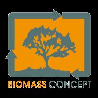 logo biomass concept entreprise de sourcing de matières premières et co-produits